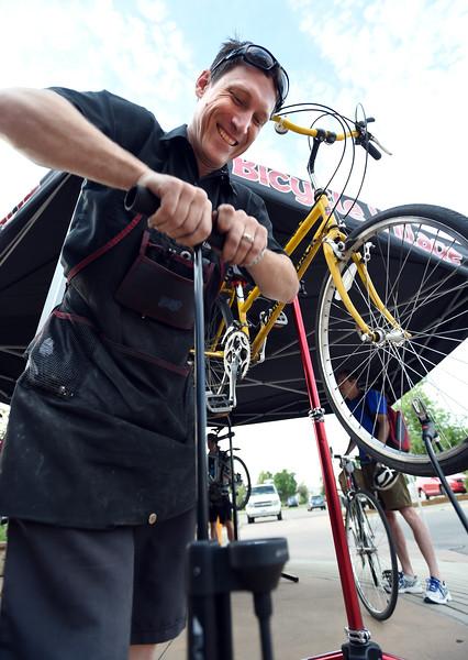 June 2017 Bike to Work in Boulder