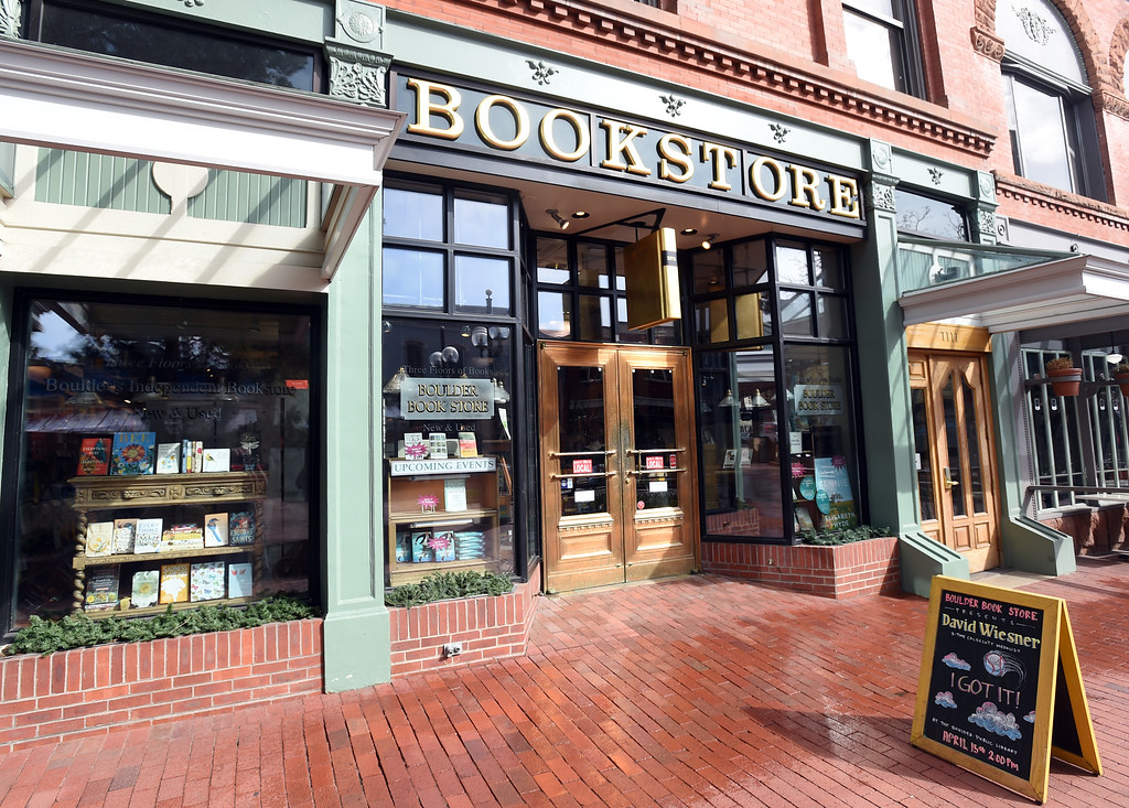. The Boulder Book Store on Pearl Street was named the best book store in the country by Publisher\'s Weekly. For more photos, go to dailycamera.com. Cliff Grassmick  Photographer  March 29, 2018
