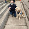 Katie Comfort Dogs with a New Friend