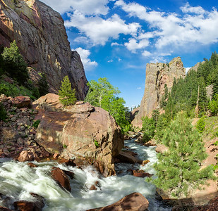 Spring Flow in Eldorado Canyon