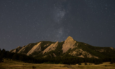 Flatirons Night Glow