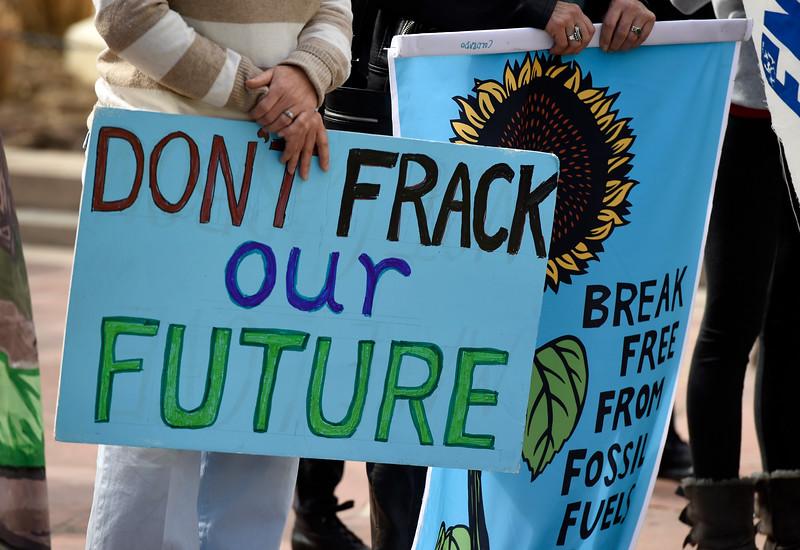 Boulder Fracking Protest