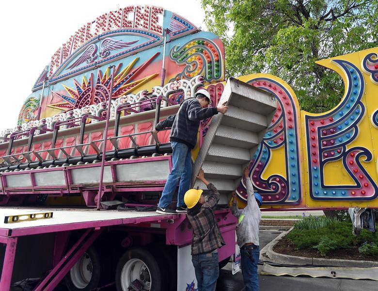 Boulder Creek Festival Carnival Prep