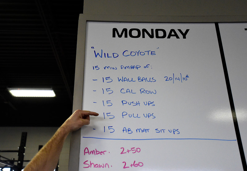 Crossfit Boulder Workout