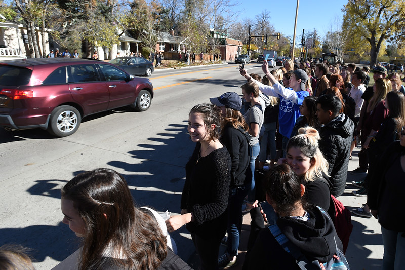 Boulder High Election Protest
