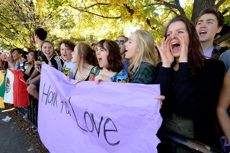 Boulder High Students Walkout