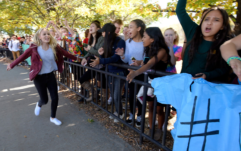 Fairview High Students Walkout