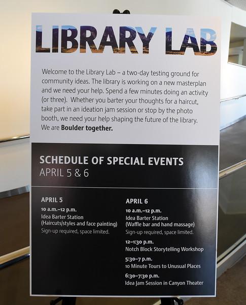 Boulder Library Lab