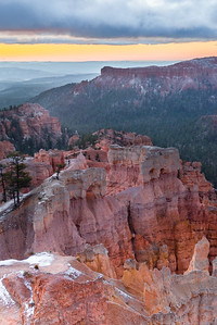 Rim, Bryce Canyon.
