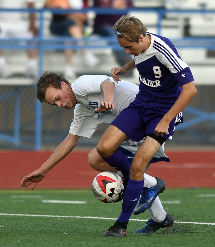 Boulder at Broomfield Boys Soccer