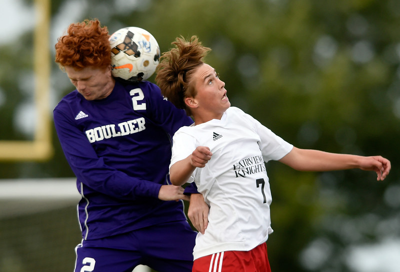 Boulder vs Fairview Boys Soccer