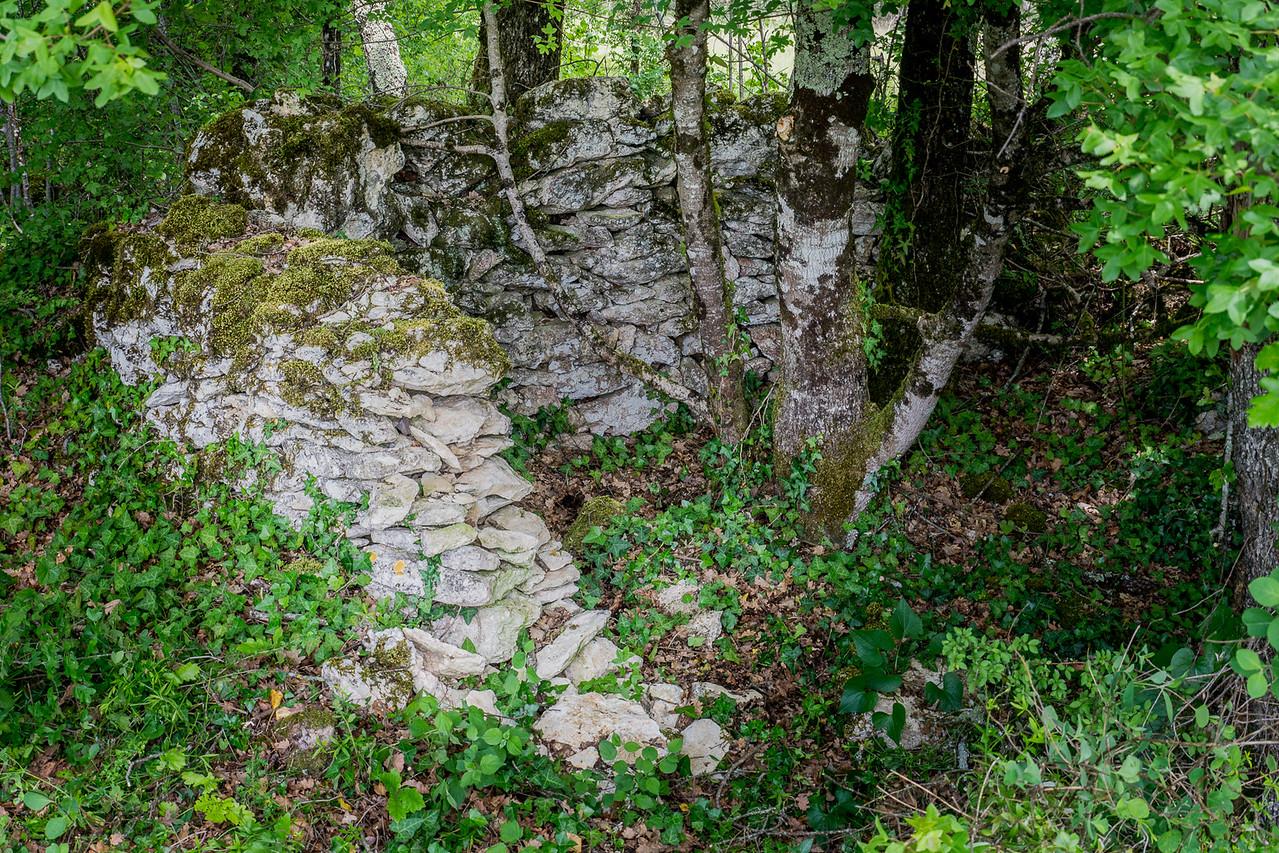 Cabane de berger près de Pech Sec
