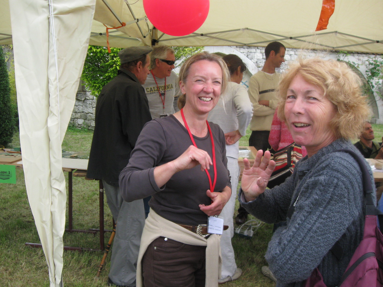 Linda and Colette (one of her Tai Chi buddys)