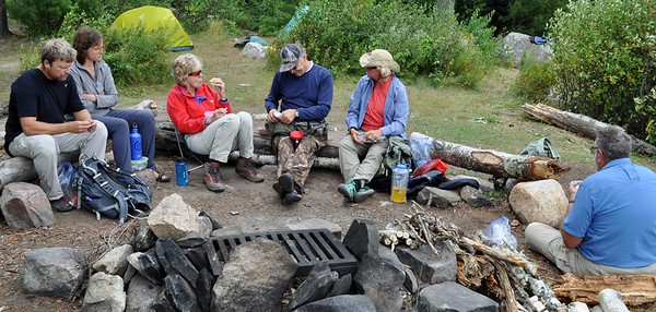 Wilderness Volunteers: August 2015 Boundary Waters Canoe Area Wilderness Service Project