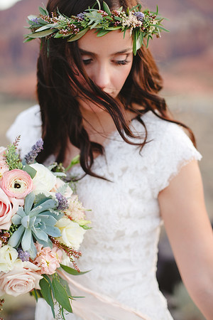 Flowers and Floral Crown By Bloomers