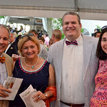 Dr. Jonathan Reinstine, Dr. Paige Hertweck, Dr. Craig Alexander and Katie Alexander.
