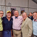 Steve Coomes, Chef Dean Corbett, Tim Laird, Rick Redding and Larry Sinclair.
