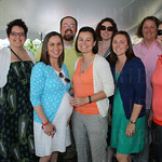 Cassie Shrum, Lisa Horn, Heather Gauvey, Todd France, Karen Gauvery, Katie France, Allison Schoen, Jill Goldman and Beth Bruner.