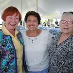 Claudia Houston, Rosalind Scott and Barbara Stallard.