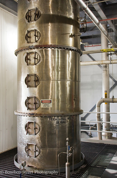 All of Heaven Hill's whiskey recipes (rye and wheat flavored bourbons, rye whiskey, wheat whiskey, corn whiskey) are run through one of their two identical column stills.