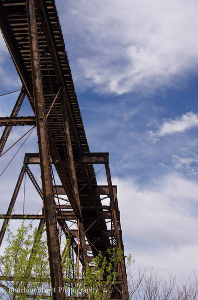 Old train trestle over the Kentucky River
