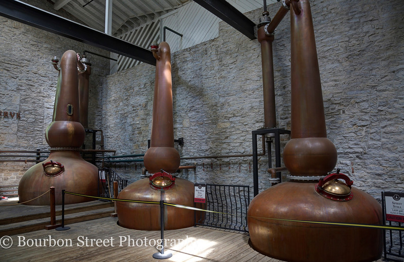 Triple copper pot stills