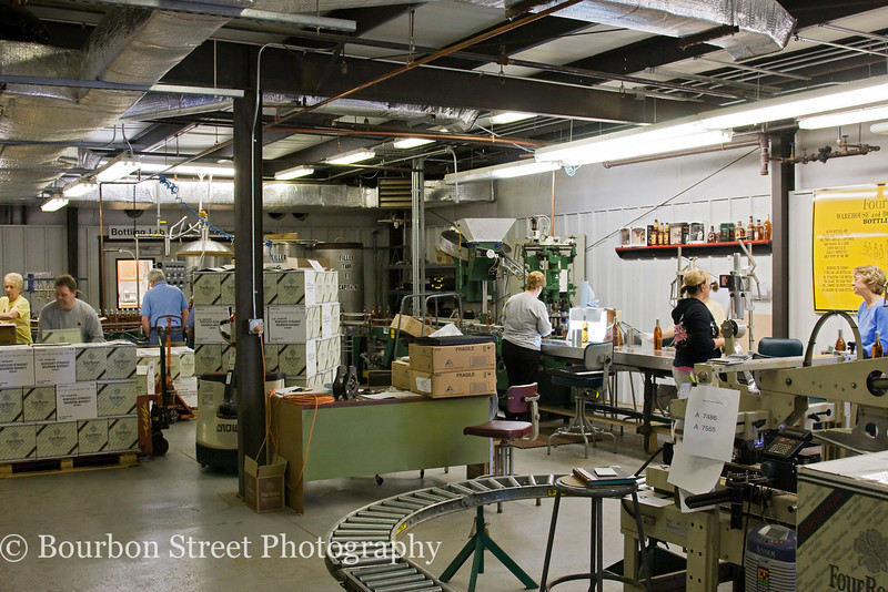 Another view of the bottling line.