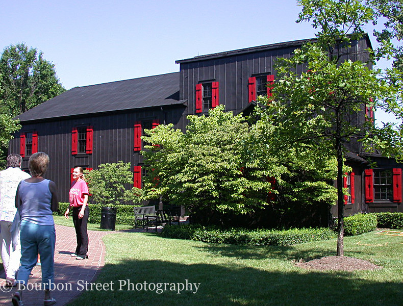 Makers Mark is the Disneyland of bourbon distilleries. The tour was the most crowded on my trip with at least 25 people. <br /> <br /> The grounds are very attractive and impeccably maintained with all the buildings painted to match. <br /> <br /> The attractive tour guide belted out a well rehearsed description of all we saw, peppered with anecdotes for almost everything.