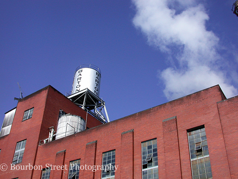 The Tom Moore Distillery has been operating in Bardstown since 1879. <br /> <br /> In 1944 the distillery changed hands and was renamed Barton. <br /> <br /> It remained as such until 2008 when the name was changed back to the Tom Moore Distillery.