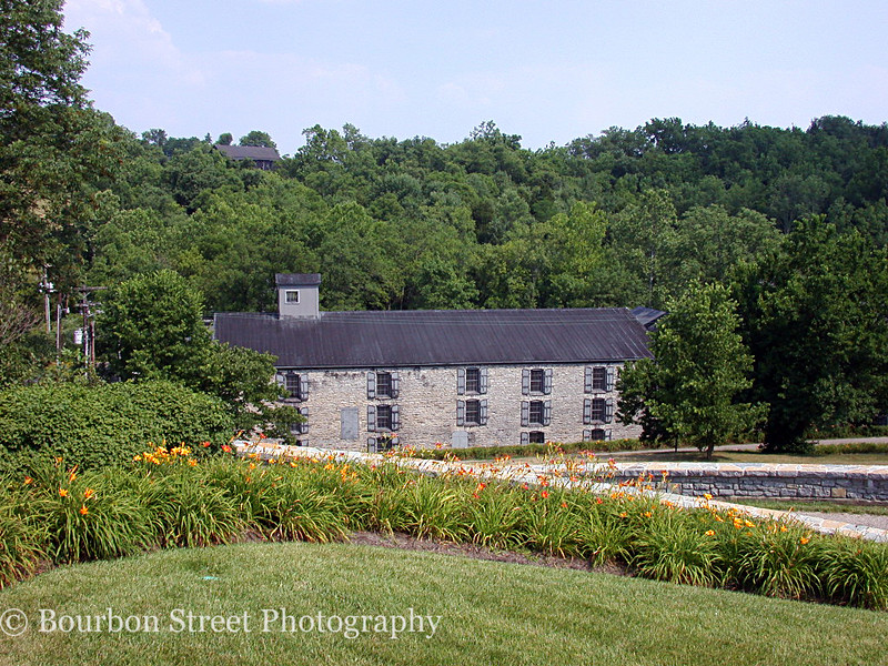 The Woodford Reserve Distillery has a long and complicated history.  <br /> <br /> The main distillery building dates back to 1838.  It was then that Oscar Pepper built the Old Oscar Pepper Distillery on this site.  <br /> <br /> The other stone buildings on the property are all over 100 years old.