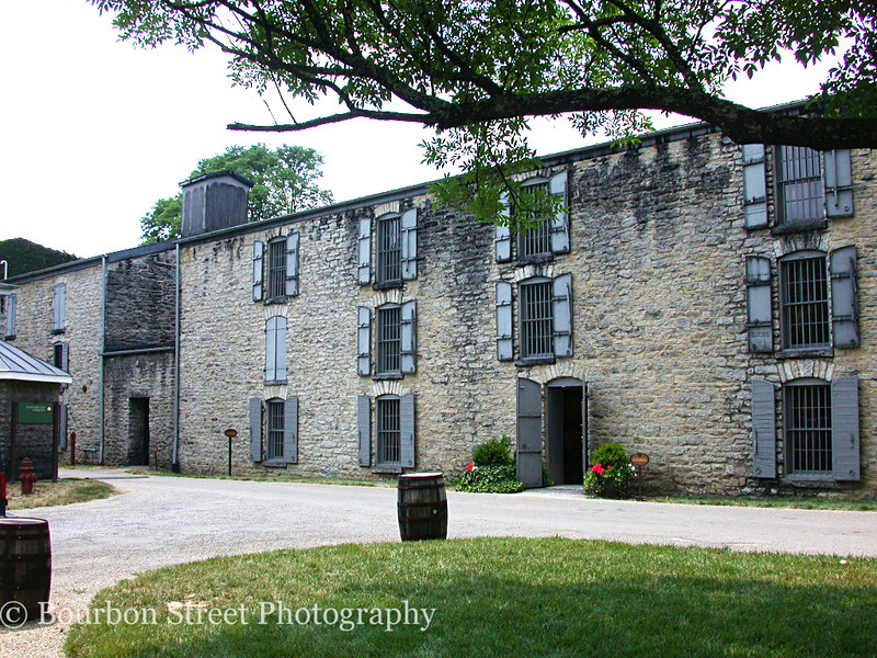Some of the old limestone rickhouses.