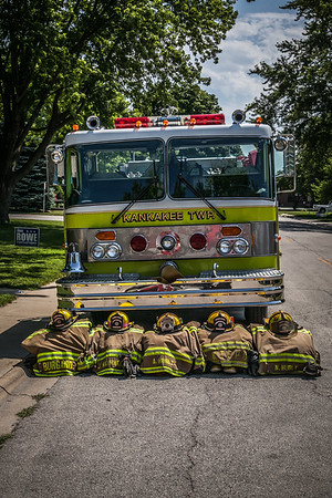 Bourbonnais Friendship Fest Parade ~ Fire Departments