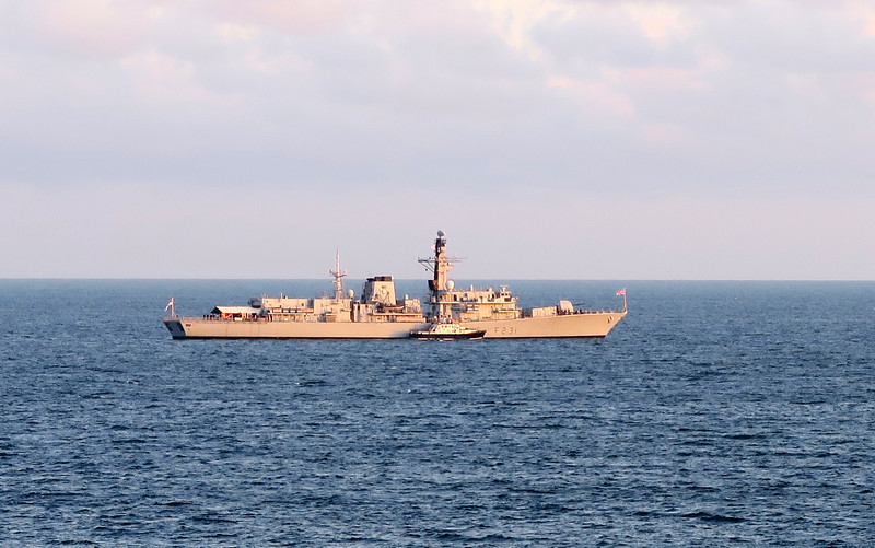 HMS Argyll.   The third and current HMS Argyll is a Type 23 'Duke' class frigate. She is currently the oldest serving Type 23 frigate in the Royal Navy. Like all of her class she is named for a British dukedom.