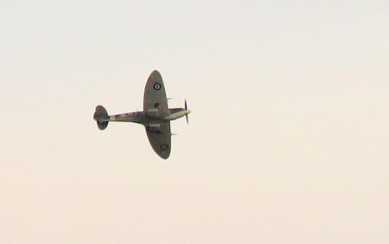 The Rolls Royce Spitfire.   PS853, was delivered to the RAF 68 years ago and designed as an unarmed, high-altitude reconnaissance aircraft.