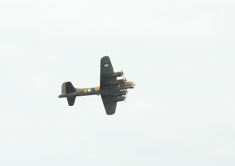 Wartime bomber Sally B