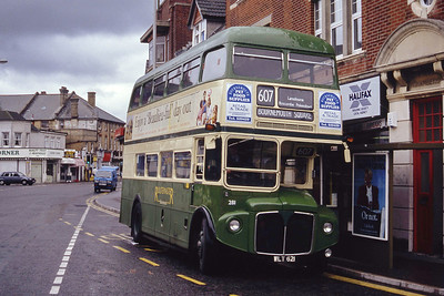 Bournemouth Heritage Transport 281 Fisherman's Walk Somerton Sep 93