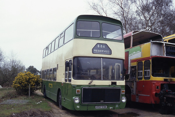 Bournemouth Heritage Transport_Routemaster Bournemouth in the mid 1990's