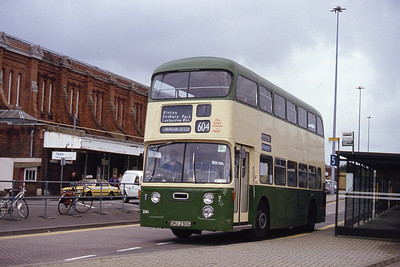 Bournemouth Heritage Transport 230 Bournemouth Railway Stn Sep 93