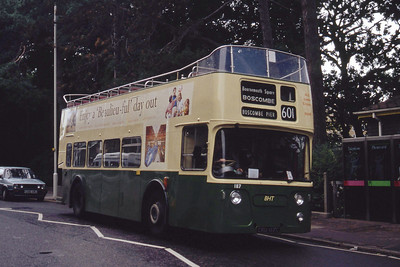 Bournemouth Heritage Transport 187 Avenue Rd Bournemouth Sep 93