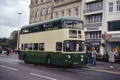 Bournemouth Heritage Transport 230 Gervis Place Bournemouth Sep 93