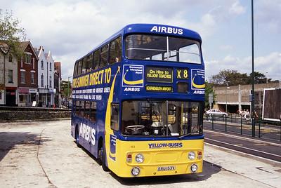 Bournemouth Transport 153 Triangle Bournemouth Jul 96