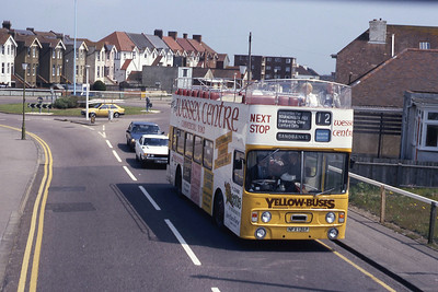 Bournemouth Transport 136 Southbourne Cliff Rd Bournemouth May 87
