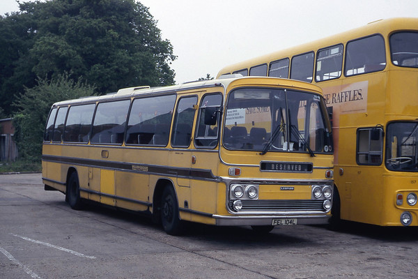 Bournemouth Transport's Yellow Buses, mid 1980's to mid 1990's.