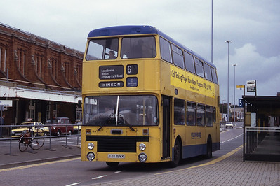 Bournemouth Transport 184 Bournemouth Station Sep 93