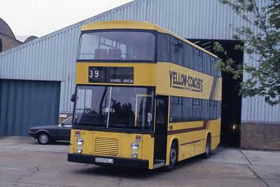 Bournemouth Transport 202 Depot Bournemouth May 87