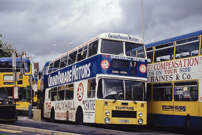 Bournemouth Transport 196 Triangle Bournemouth Sep 93