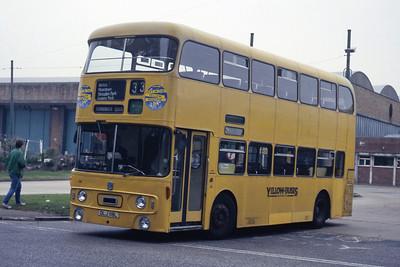 Bournemouth Transport 118 Depot Bournemouth May 87