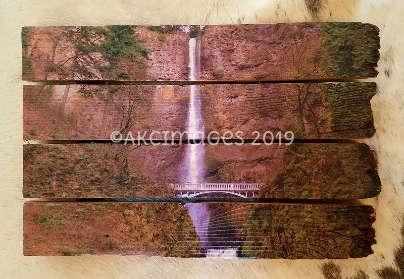 "Multnomah Falls - Spring Collection (#1) ©AKCImages.com Small Horizontal Boutique  15""X 10"" $55 plus Shipping/delivery"