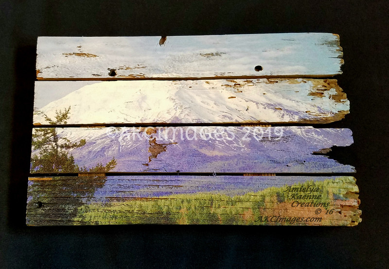 """'Mt. Saint Helens'#1 ©AKCImages.com Small Horizontal Boutique  15""""X 10"""" $45 plus Shipping/delivery"""