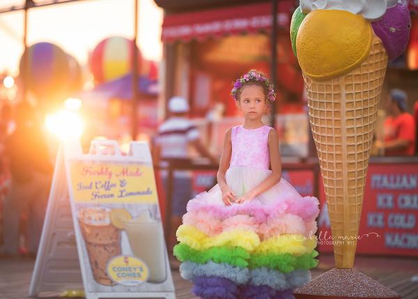 Summer Rainbow Tutu
